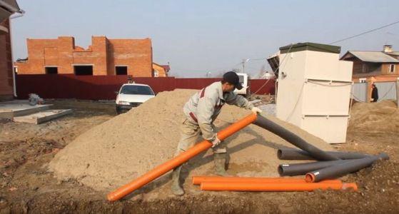 утепление водопроводных труб