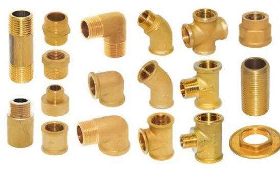 латунные соединительные фитинги для полиэтиленовых труб