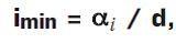 формула минимального уклона