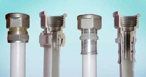 разъемы металлопластиковых труб