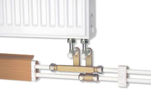 подключение металлопластиковой трубы к радиатору