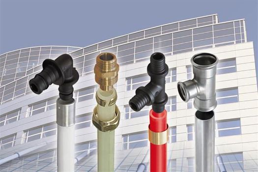 виды пластиковых труб и фитингов для отопления