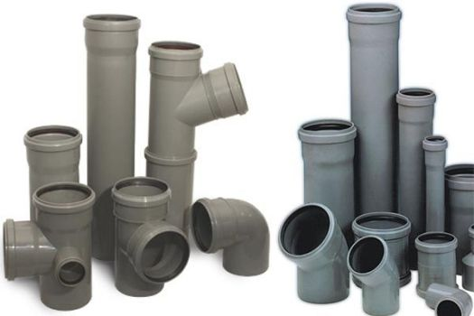 размеры труб для канализации