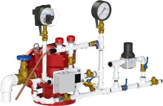 система пожаротужения