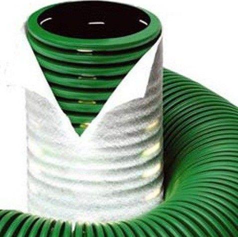 дренажная труба с геотканью
