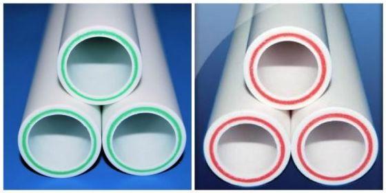 конструктивные особенности полипропиленовых труб с армированием из стекловолокна