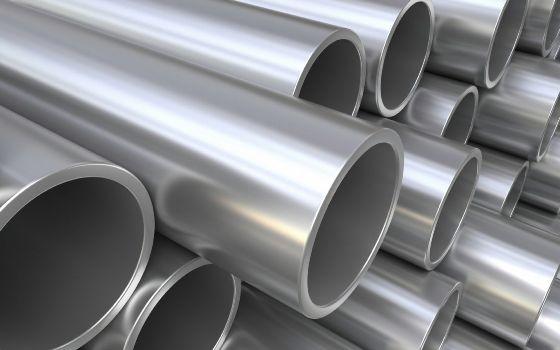 стальные трубы с разным диаметром