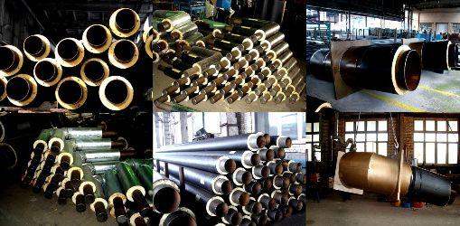 изделия трубы на заводе изготовителе