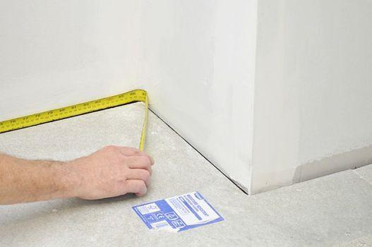 измерить площадь помещения для определения мощности