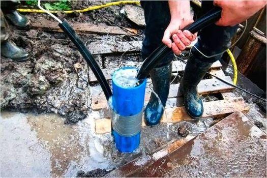 прочистка скважины водяным компрессором