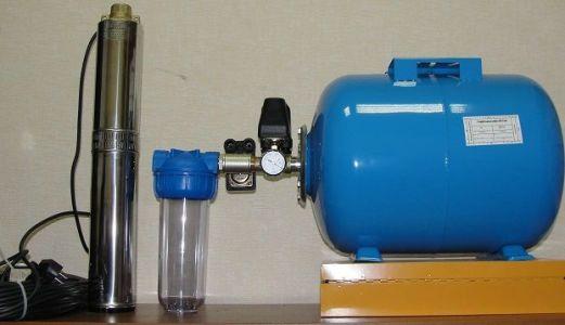 насосная станция для подачи воды в дом